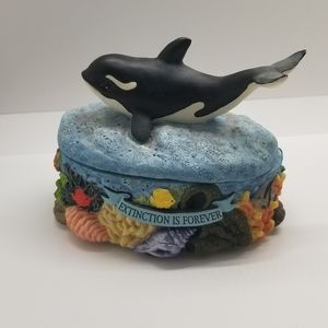 Sea World Extinction is Forever Box